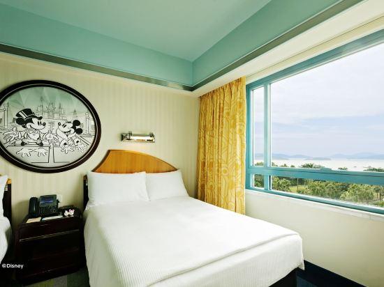 迪士尼好萊塢酒店(Disney's Hollywood Hotel)海景雙床房