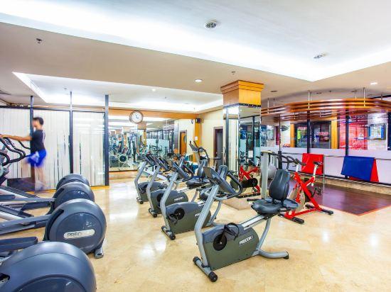 花築·芭堤雅海豚灣酒店(Floral Hotel · Dolphin Circle Pattaya)健身房