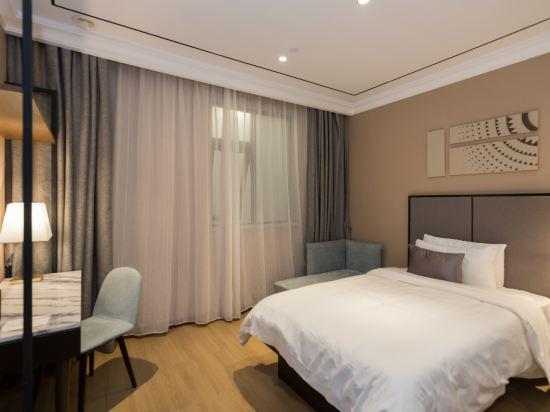 和頤至尊酒店(上海南京西路地鐵站店)(Yitel Premium (Shanghai Jing'an Nanjing West Road))至尊雙床房