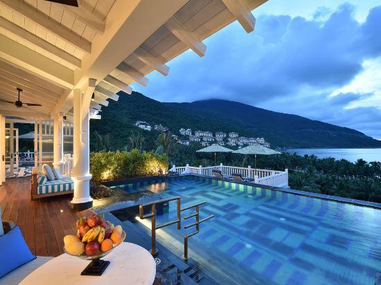 峴港洲際陽光半島度假酒店(InterContinental Danang Sun Peninsula Resort)室外游泳池
