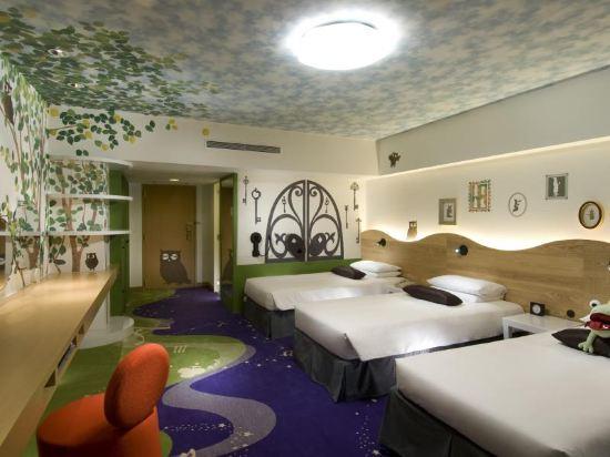 千葉東京灣希爾頓酒店(Hilton Tokyo Bay Chiba)四人房(單人床)15