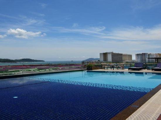 豪麗勝酒店(Horizon Hotel)室外游泳池