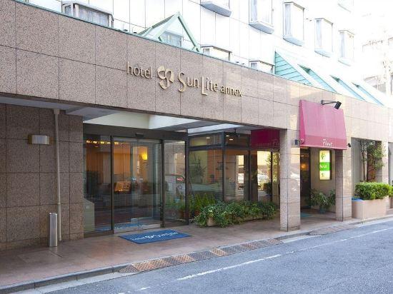 東京新宿新麗飯店(Hotel Sunlite Shinjuku Tokyo)外觀