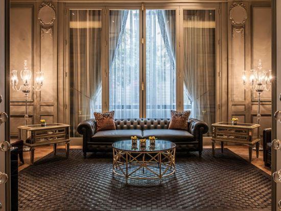 巴黎半島酒店(Hotel the Peninsula Paris)公共區域