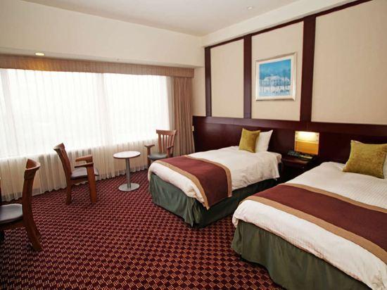 京阪環球塔酒店(Hotel Keihan Universal Tower)塔樓高級雙床房