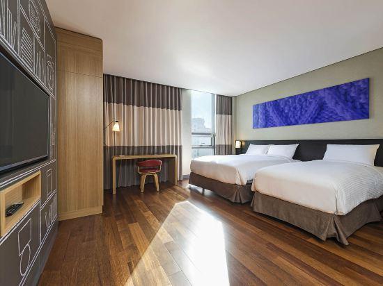 宜必思大使釜山城市中心酒店(Ibis Ambassador Busan City Centre)豪華房(帶一張大床和1張單人床)