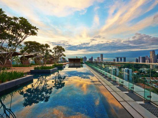 新加坡烏節門真酒店(Hotel Jen Singapore Orchardgateway by Shangri-La)室外游泳池