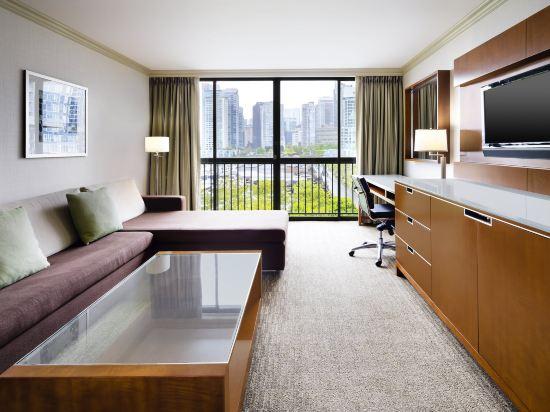 海柏温哥華威斯汀酒店(The Westin Bayshore Vancouver)精緻套房