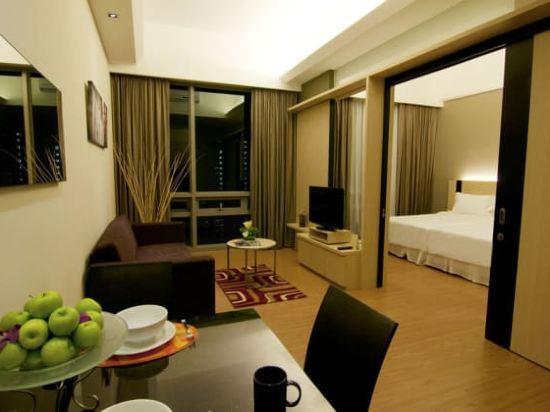 吉隆坡瑞園公寓(Swiss Garden Residences Kuala Lumpur)頂層房