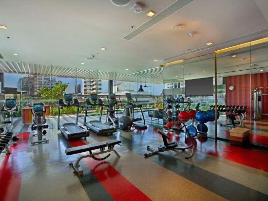 曼谷素坤逸希爾頓逸林酒店(DoubleTree by Hilton Sukhumvit Bangkok)健身房