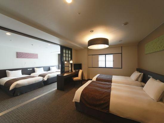 京都塔酒店(Kyoto Tower Hotel)豪華家庭房