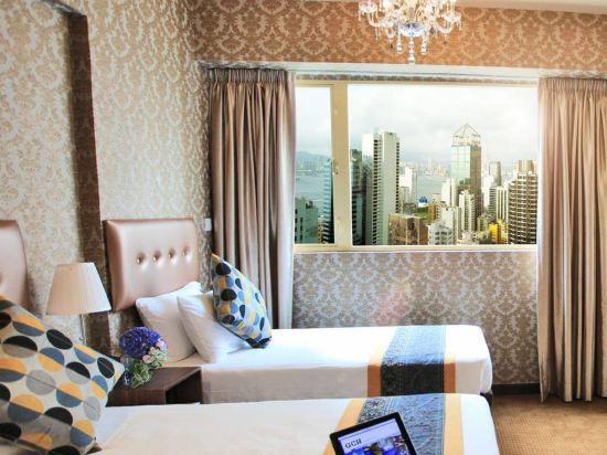 香港華麗都會酒店(Grand City Hotel)豪華海景客房