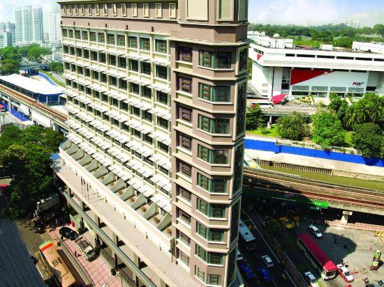 吉隆坡中央藝術坊彩鴻酒店(Travelodge Central Market (Formerly Known As GEO Hotel))外觀