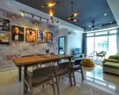 位於新山市中心的3卧室公寓-111平方米|帶3個獨立浴室