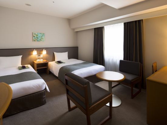京都蘭威特酒店(Aranvert Hotel Kyoto)經濟雙床房