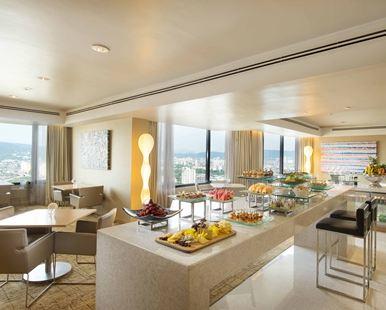 吉隆坡希爾頓逸林酒店(DoubleTree by Hilton Kuala Lumpur)露台套房