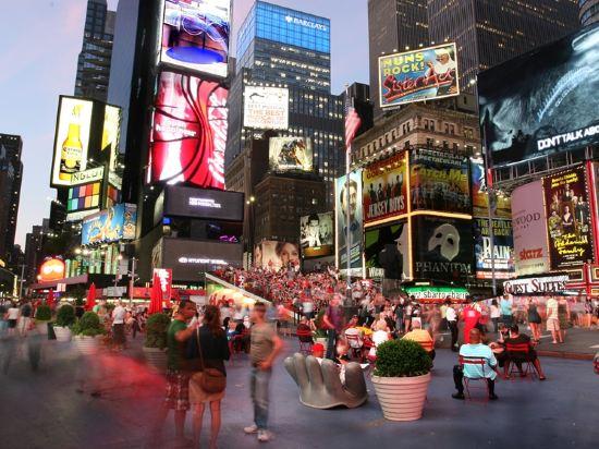 紐約市中心希爾頓酒店(New York Hilton Midtown)周邊圖片