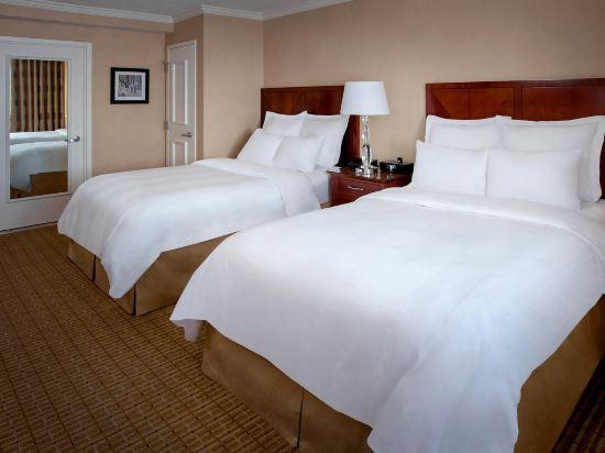 紐約市中心萬豪酒店(New York Marriott Downtown)哈得遜河景房