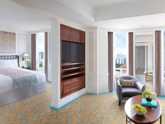 新加坡洲際酒店(InterContinental Singapore)尊貴特大床房