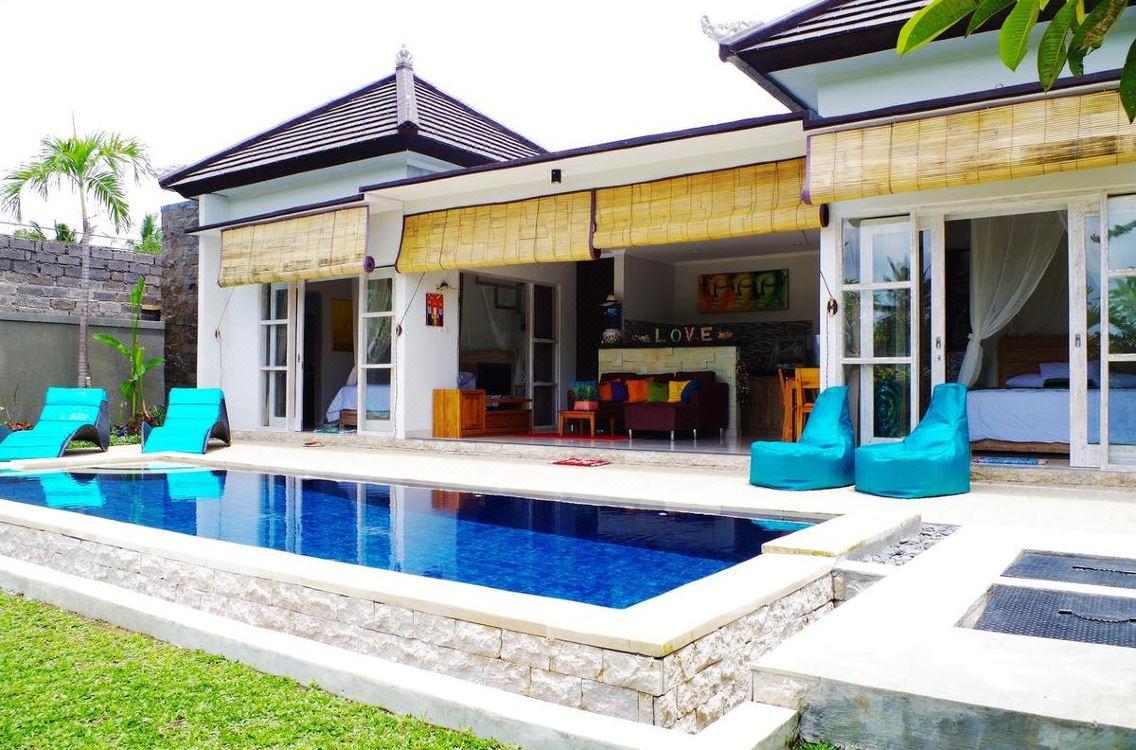 Private Pool Villa di Ubud
