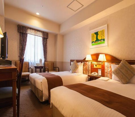Hotel Trusty 名古屋(Hotel Trusty Nagoya)轉角雙床房