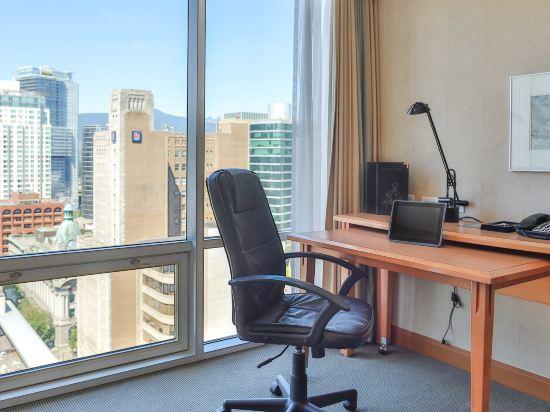 温哥華市中心萬豪德爾塔酒店(Delta Hotels by Marriott Vancouver Downtown Suites)套房