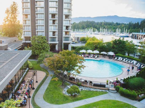 海柏温哥華威斯汀酒店(The Westin Bayshore Vancouver)室外游泳池