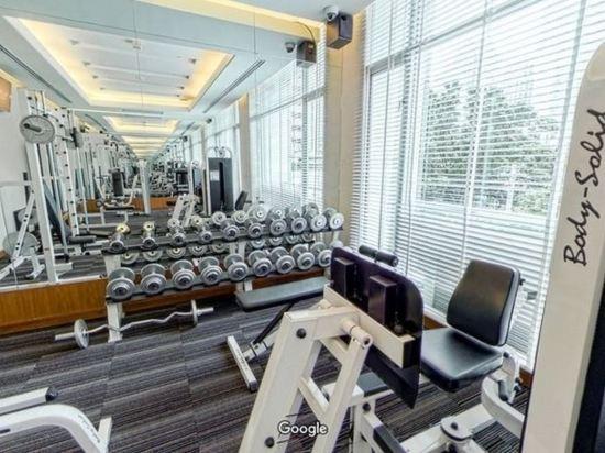 隆齊中間點大酒店(Grande Centre Point Hotel Ploenchit)健身房