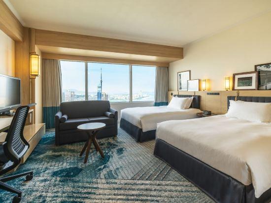 福岡海鷹希爾頓酒店(Hilton Fukuoka Sea Hawk)甄選豪華雙床房