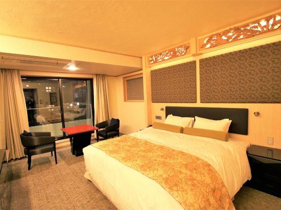 京都雅然居酒店(祇園)(Hotel Alza Kyoto)河景高級大床房