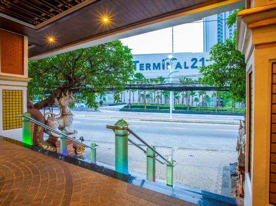花築·芭堤雅海豚灣酒店(Floral Hotel · Dolphin Circle Pattaya)外觀