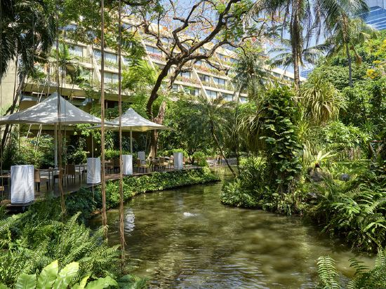 曼谷瑞士奈樂特公園酒店(Swissotel Nai Lert Park Bangkok)外觀