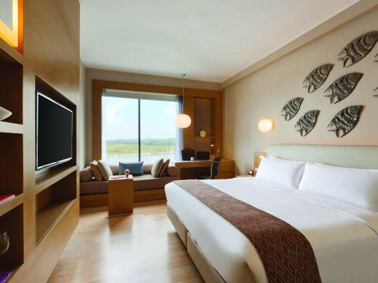 新山香格里拉公主港今旅酒店(Hotel Jen Puteri Harbour Johor Bahru by Shangri-La)豪華房