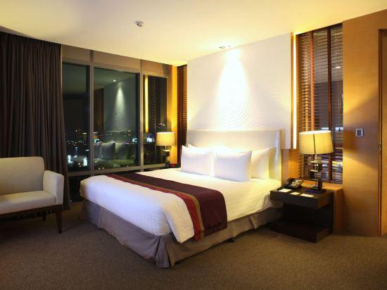 曼谷斯瓦特爾酒店(Sivatel Bangkok)至尊豪華一卧室套房