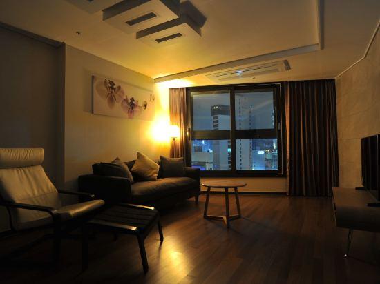 海雲台馬克酒店(Hotel the Mark Haeundae)M家庭雙床套房