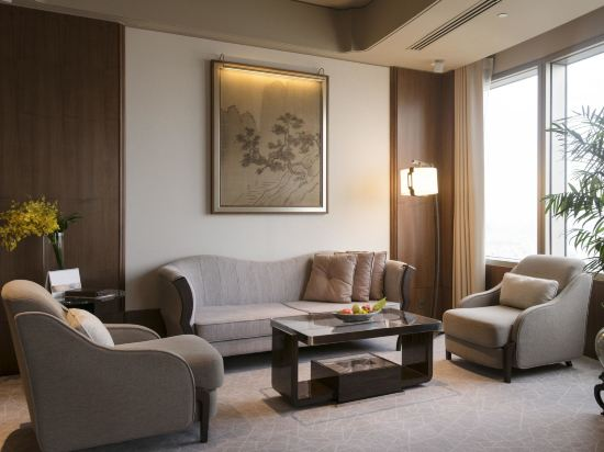 香格里拉台北遠東國際大飯店(Shangri-La's Far Eastern Plaza Hotel Taipei)豪華閣超豪華客房
