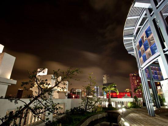 台中皇家季節酒店中港館(Royal Seasons Hotel Taichung Zhongkang)院子