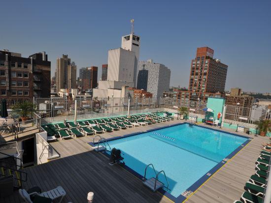 紐約沃森酒店(原紐約曼哈頓第57街假日酒店)(The Watson Hotel (Formerly Holiday Inn Manhattan 57th Street))室外游泳池