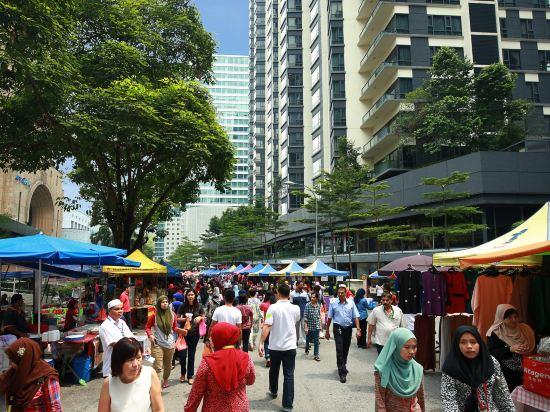 吉隆坡市中心智選假日酒店(Holiday Inn Express Kuala Lumpur City Centre)外觀