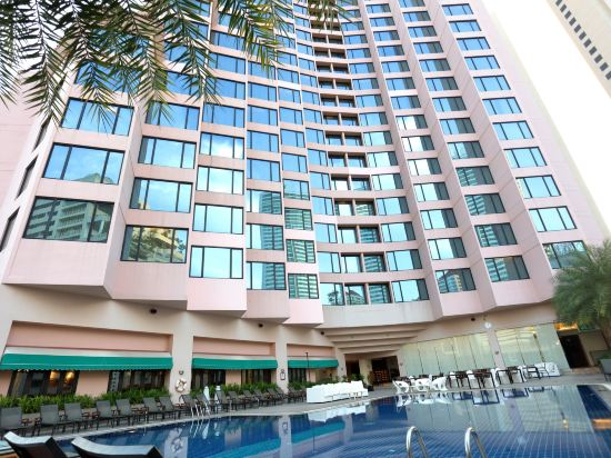 曼谷瑞博朗德酒店(Rembrandt Hotel Bangkok)室外游泳池
