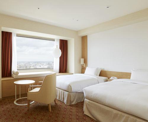 札幌京王廣場飯店(Keio Plaza Hotel Sapporo)舒適大型雙床房