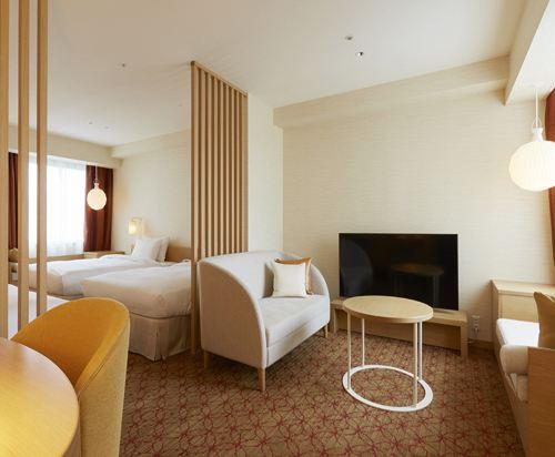 札幌京王廣場飯店(Keio Plaza Hotel Sapporo)舒適四人房