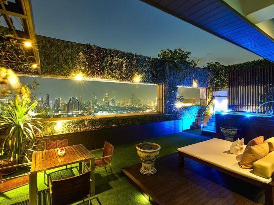 曼谷帕色哇公主酒店(Pathumwan Princess Hotel)帕色哇露台套房