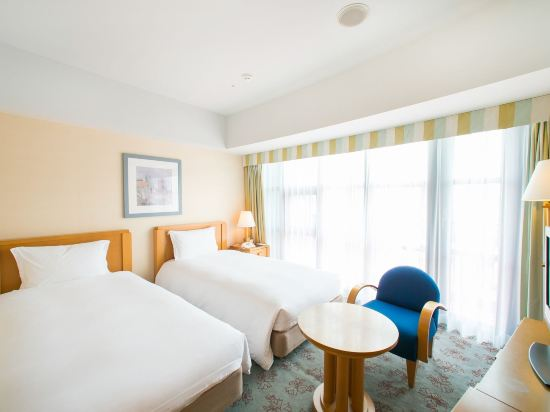 福岡凱悅酒店(Hyatt Regency Fukuoka)中等雙床房