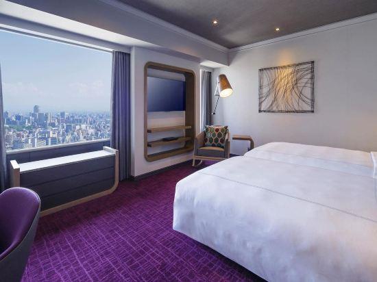 大阪南海瑞士酒店(Swissotel Nankai Osaka)瑞士行政雙床房