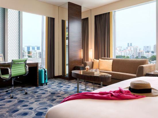 新加坡烏節門真酒店(Hotel Jen Singapore Orchardgateway by Shangri-La)俱樂部全景房
