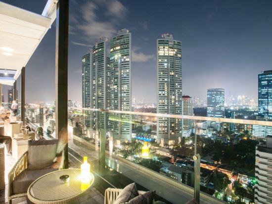 曼谷諾富特素坤逸20號酒店(Novotel Bangkok Sukhumvit 20)眺望遠景