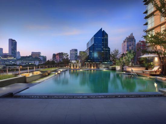 曼谷撒通維斯塔萬豪行政公寓(Sathorn Vista, Bangkok - Marriott Executive Apartments)室外游泳池