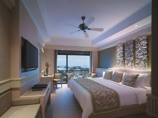 新加坡香格里拉聖淘沙度假酒店(Shangri-La's Rasa Sentosa Resort & Spa)海景豪華房