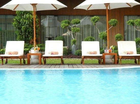 曼谷馬奎斯皇后公園萬豪酒店(Bangkok Marriott Marquis Queen's Park)室外游泳池